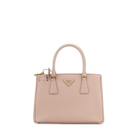 PRADA Saffiano Lux Small Double-Zip Popular Tote Bag a40dae767dcfa