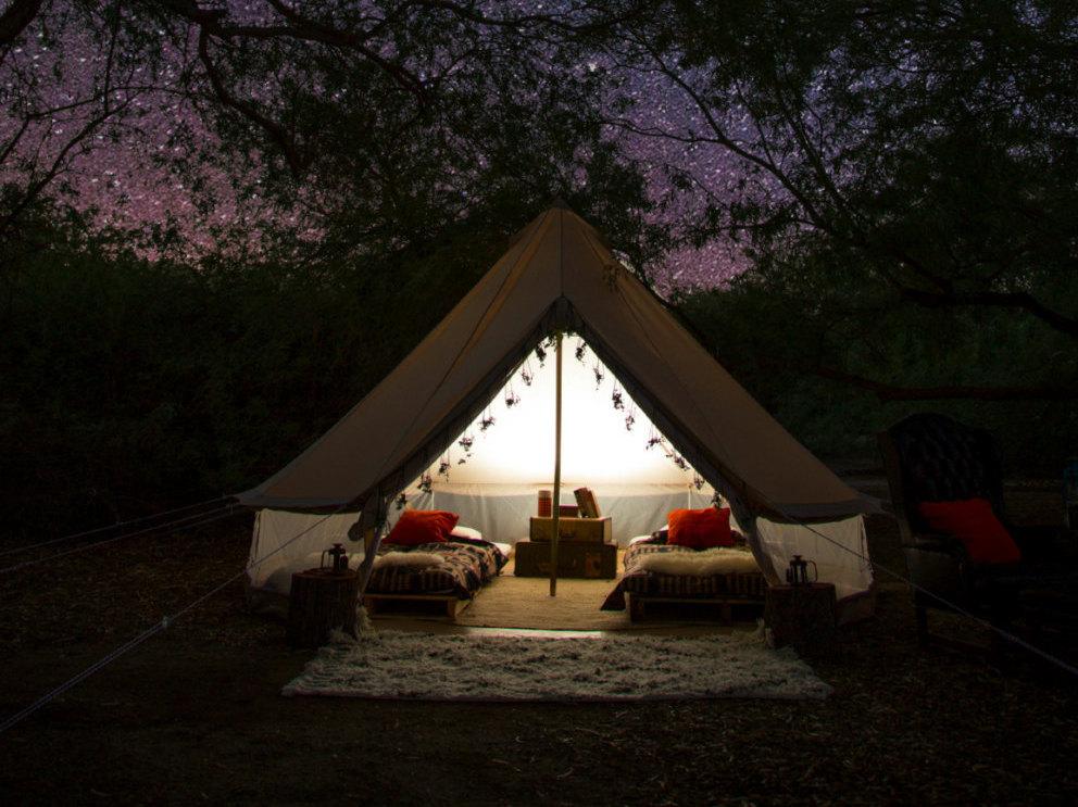 注目のラグジュアリーキャンプテント