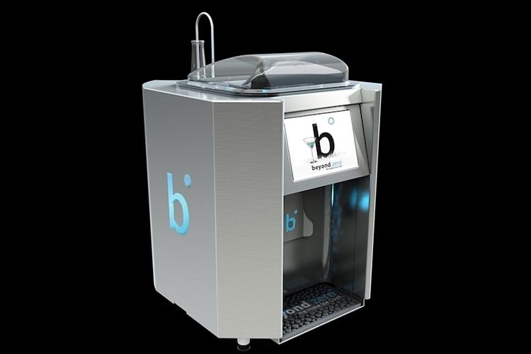 Beyond Zero's Liquor Ice Maker:アルコールをも凍らせるアイスメーカー